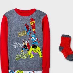 Marvel Avengers Pajama Shirt with socks